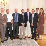 Candidats, jury et représentants du laboratoire Astellas
