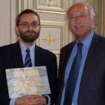 Remise du prix au Docteur Dany Anglicheau